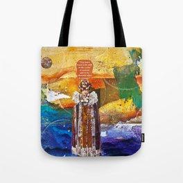 In Stillness, Lies Wisdom Tote Bag