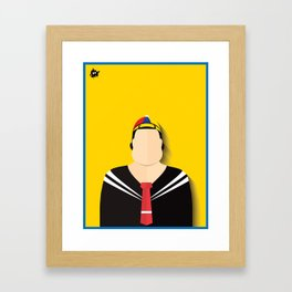 Quico Framed Art Print