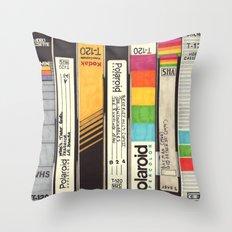 VHS Detail Throw Pillow