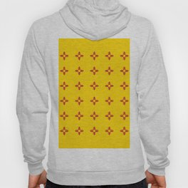 flag of new mexico 3 Hoody