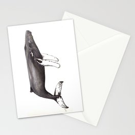 Humpback whale Megaptera Stationery Cards