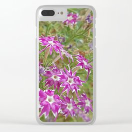 little flower - flor do campo Clear iPhone Case