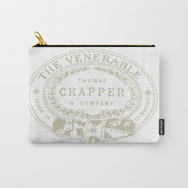 Thomas Crapper & Company Logo Carry-All Pouch