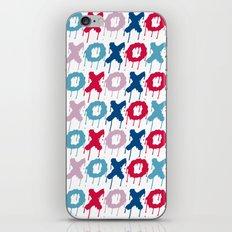 X O PATTERN  iPhone & iPod Skin