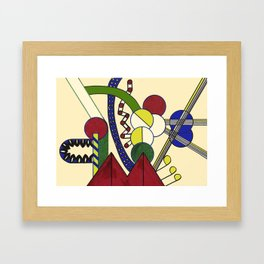 INGENIOUS Framed Art Print