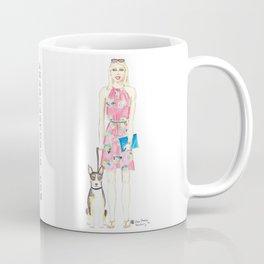 Girl and her Dog Coffee Mug