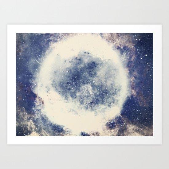 Ring of Stars Art Print