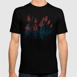 Hyacinths in the night T-shirt