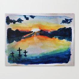 Saving Sunset Canvas Print