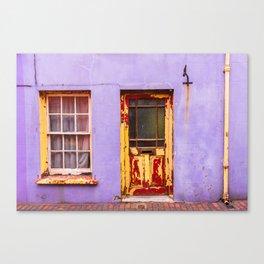 Colorful doorway in Kinsale, Ireland Canvas Print