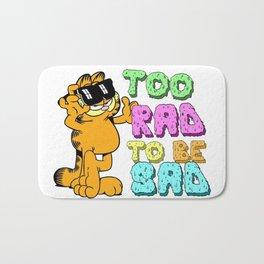 Too Rad to be Sad Garfield the Cat Bath Mat
