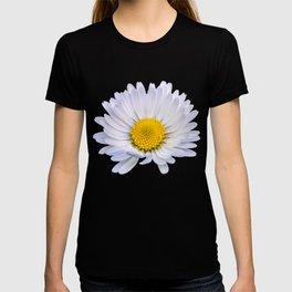 Colourful daisy flower T-shirt