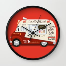 Ode To Cornetto Part 1 Wall Clock