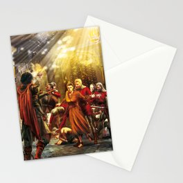 The wailing of the nightingale Stationery Cards