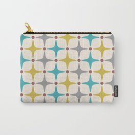 Mid Century Modern Star Pattern 927 Carry-All Pouch