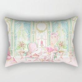 Marie Antoinette, Palace of Versailles, Diorama Rectangular Pillow