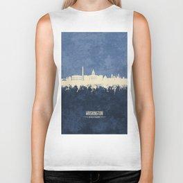 Washington DC Skyline Biker Tank