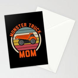 Monster Truck Dad Of The Birthday Boy Stationery Cards