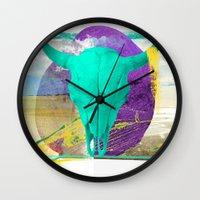 brasil Wall Clocks featuring Nordeste - Brasil by Friedrich Santana