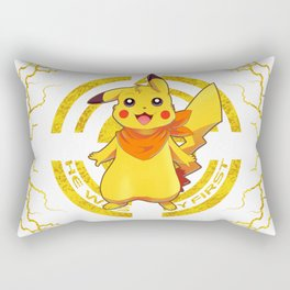 He was my first. Electric Generation I Rectangular Pillow
