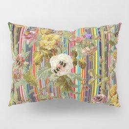 Summer Rose Garden Pillow Sham