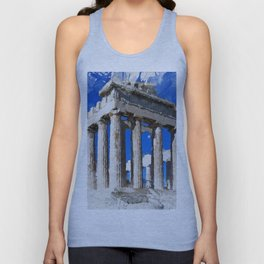 Acropolis Of Athens Unisex Tank Top