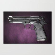 Beretta 92 Canvas Print