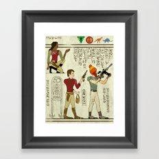 Hero-glyphics: Browncoats Framed Art Print
