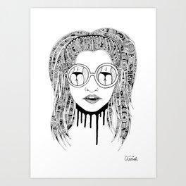 Butts Art Print