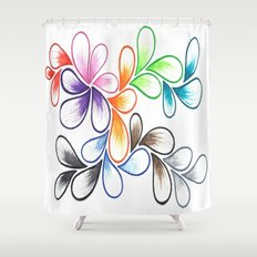 Watercolor 1 Shower Curtain