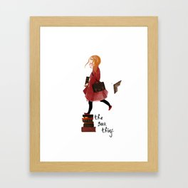 """Homage to """"The Book Thief"""" Framed Art Print"""
