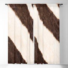 Zebra - stripes - #society6 #buyart #decor Blackout Curtain