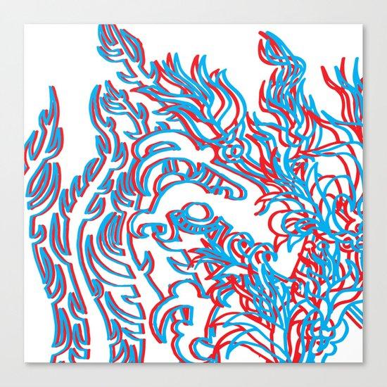 THIRD DIMENSION Canvas Print