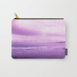 Beautiful Purple Ocean Shore Carry-All Pouch