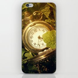 Out Of Time iPhone Skin