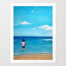 2 Wishes Art Print