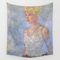 focus Wall Tapestries featuring Focus by Hinterland Girl