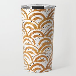 Indigo waves Travel Mug