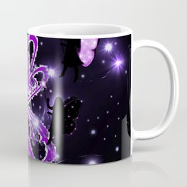 Power Purple For a Cure - The Wings of Love and Hope - Nightshift Coffee Mug