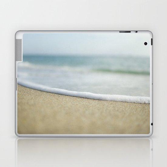 Sea Foam Beach Laptop & iPad Skin