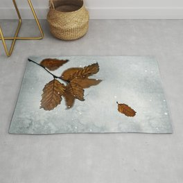When the last leaves fall Rug