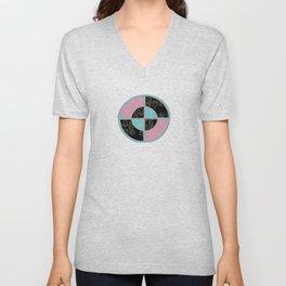 BullsEye: Emblem Unisex V-Neck