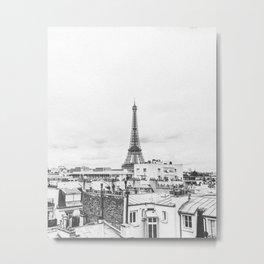 EIFFEL TOWER II / Paris, France Metal Print