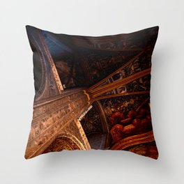 Looking Up - Albi Cathedral Throw Pillow