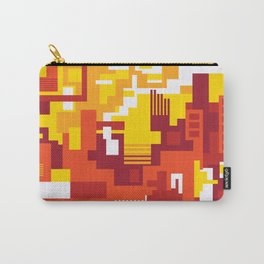 Abstract Sun Day Carry-All Pouch