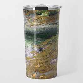 Fall By The Creekside Travel Mug