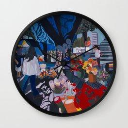 Mercado Wall Clock