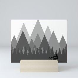 MTB Trailz Mini Art Print