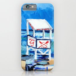 Ocean City Lifeguard Stand iPhone Case