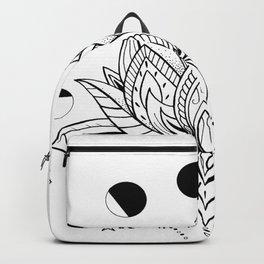 Moon Phase Lotus Backpack